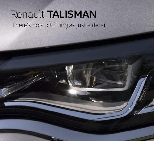 Nuevos detalles del Renault Talismán: Dos nuevos teasers de la berlina que debutará el próximo día 6