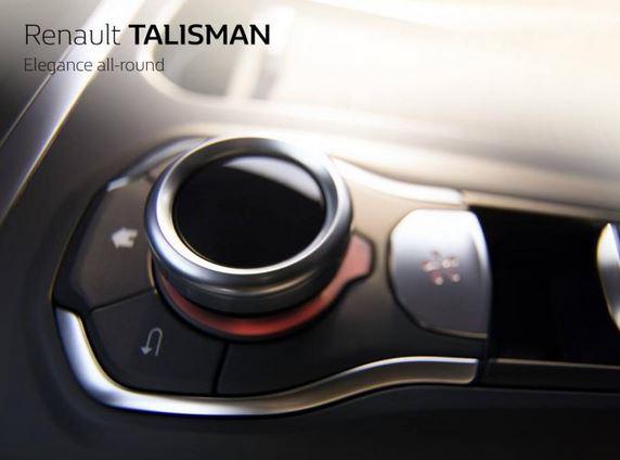 Renault nos vuelve a hablar del Talismán: ¿Una consola central 100% digital de camino?