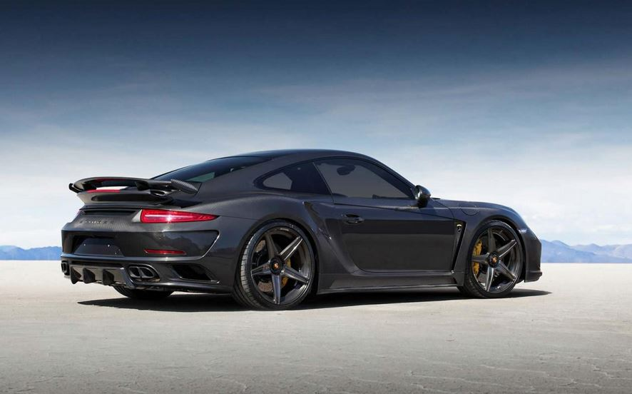 Porsche 991 GTR Carbon Edition: TOPCAR pide 290.000 euros por el 911 de fibra de carbono