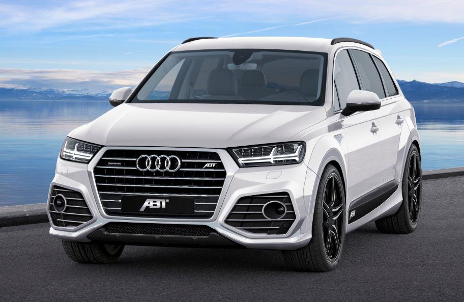 ABT le mete mano al King-size de los cuatro aros: Detalles preliminares del Audi Q7