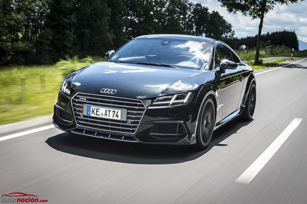 ABT le da una vuelta de tuerca al Audi TTS: 370 CV para el coupé por excelencia