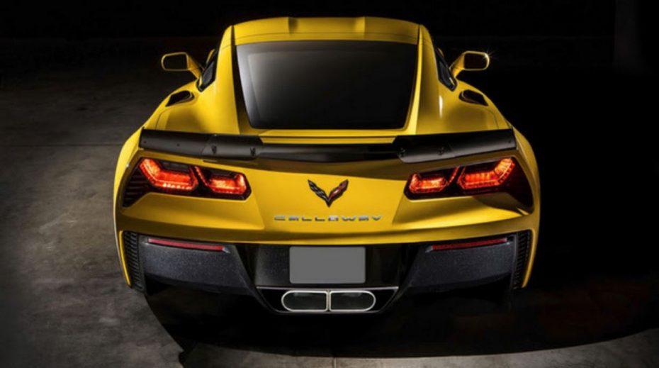 Callaway Cars nos muestra su Corvette más salvaje: Un Z06 de extraordinarias cifras