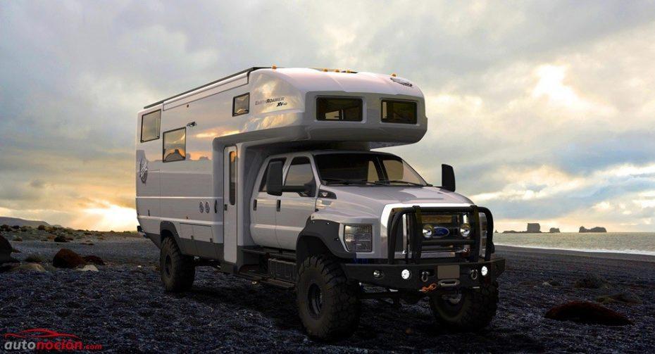 Así es el brutal EarthRoamer XV-HD, un Ford F-650 ideal para sobrevivir al apocalipsis zombie
