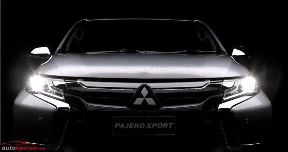 El Mitsubishi Montero Sport nos desvela casi todos sus detalles exteriores en este vídeo-teaser