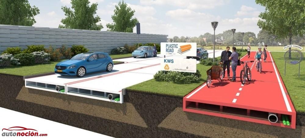En Holanda creen en el futuro de las carreteras de plástico: ¿Locura o genialidad?