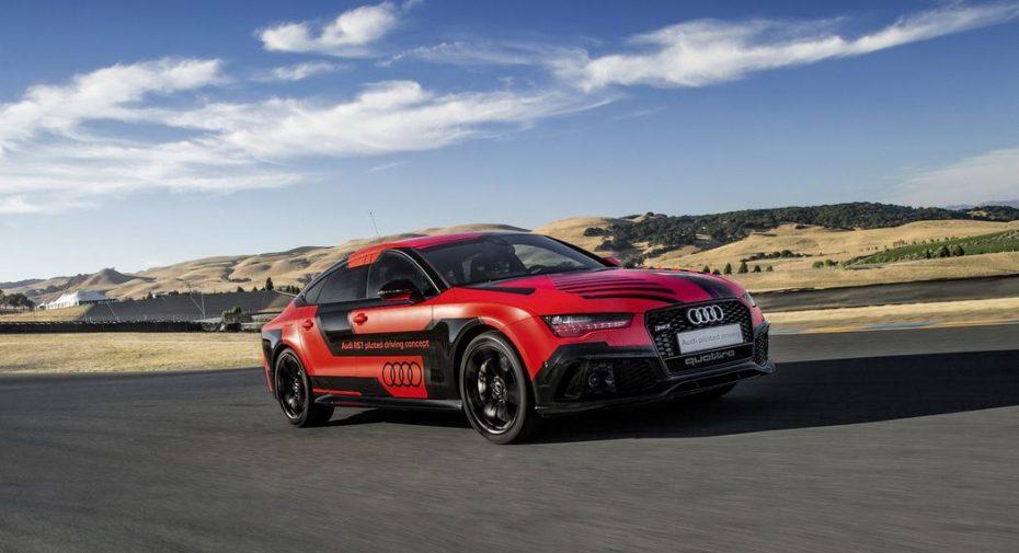 Audi RS 7 piloted driving concept: Ahora 400 kg más ligero gracias a la dieta de los cuatro aros