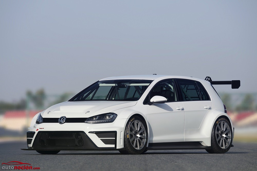 ¡Radical y solo apto para circuitos! El Volkswagen Golf TCR debuta con 330 CV y un aspecto de infarto