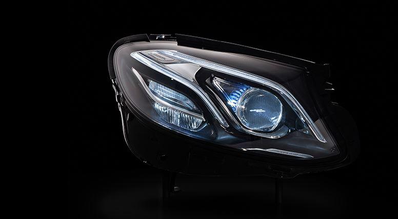 Primer teaser del tecnológico Mercedes-Benz Clase E: Un sistema de iluminación de vanguardia