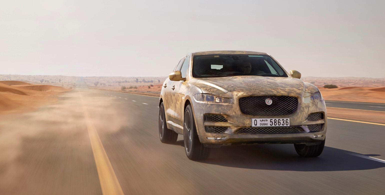 Jaguar ultima las pruebas del F-Pace: El programa más exigente de la historia de la marca