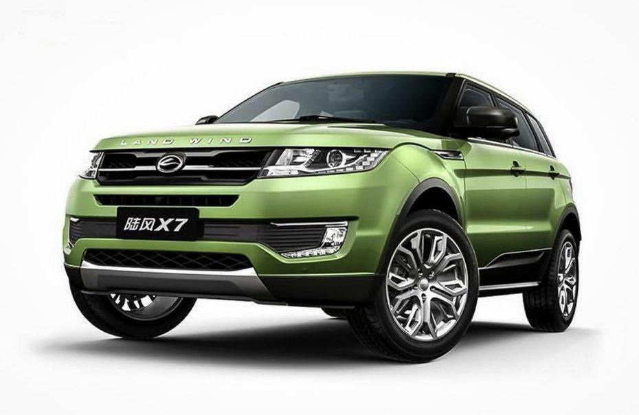 Landwind X7: La copia china del Range Rover Evoque da la cara con un precio tres veces inferior