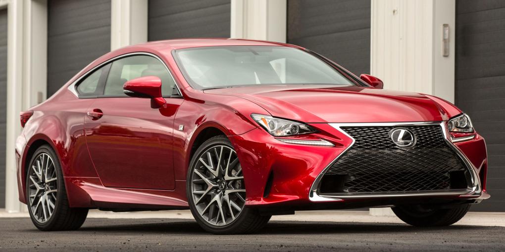 Lexus añade el motor dos litros turbo al bonito RC: 241 CV de potencia reales sin hibridación