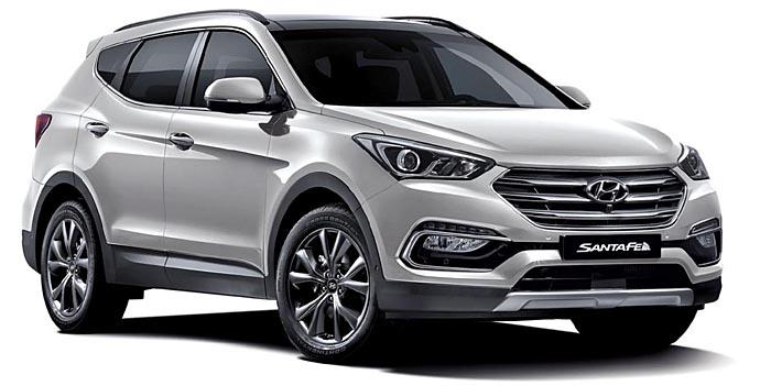 Ligeros cambios para el Hyundai Santa Fe: De momento sólo para Corea del Sur