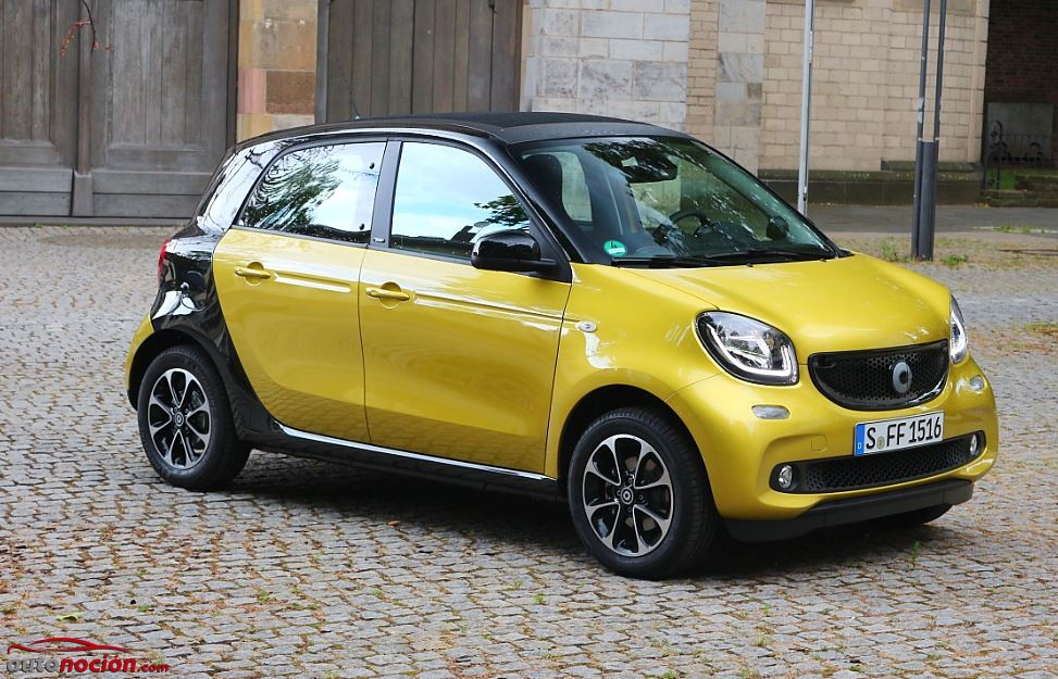 smart forfour 37