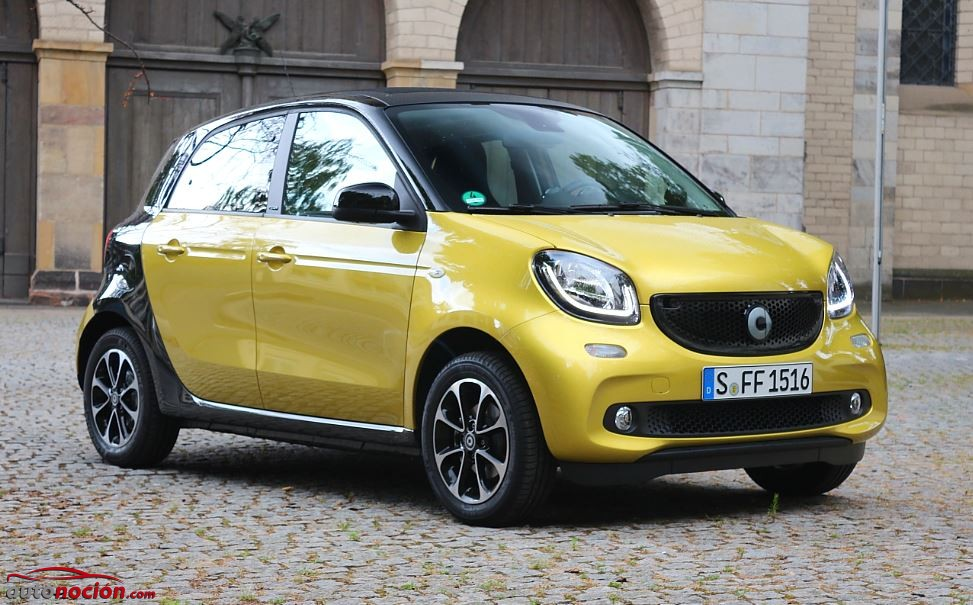 smart forfour 38
