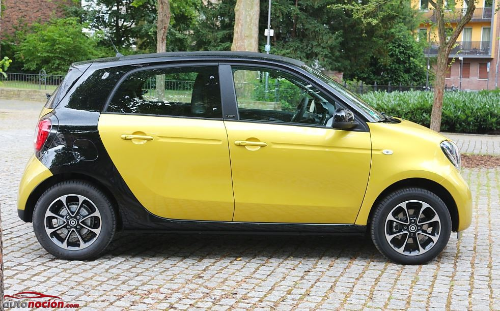 smart forfour 44