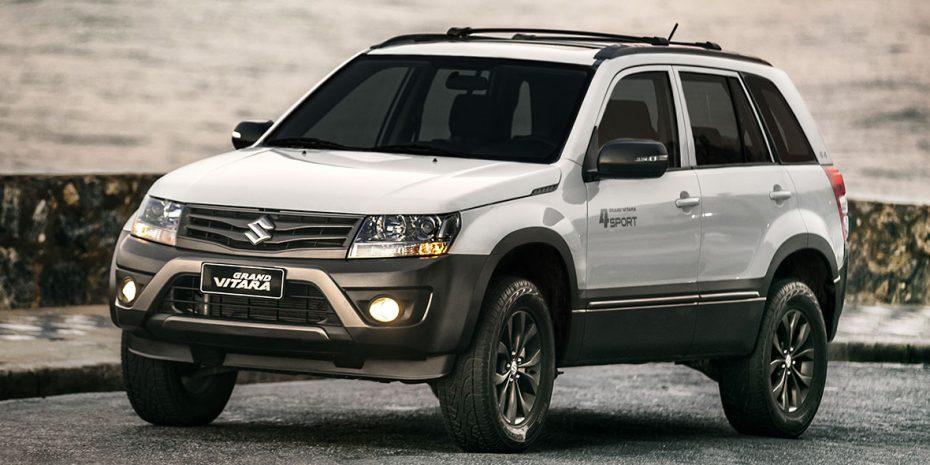 Nuevo Suzuki Grand Vitara 4Sport: Un toque más guerrero para el veterano todoterreno