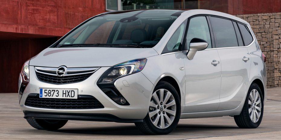 Así es la nueva gama Opel Zafira Tourer: Más eficiente e interesante