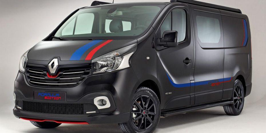 Nuevo Renault Trafic «Formula Edition»: Con tuning de barrio de serie