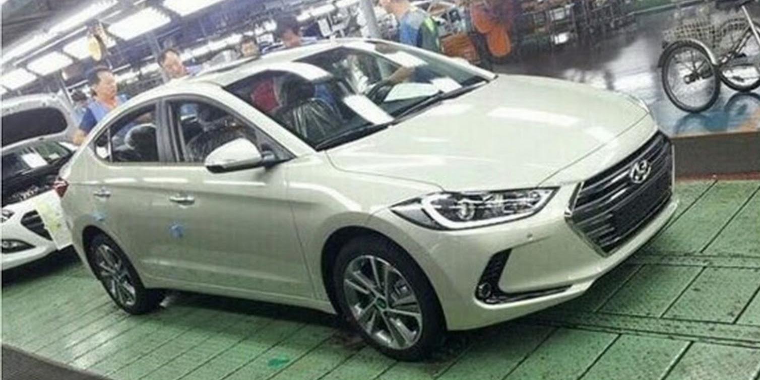 Filtrado el nuevo Hyundai Elantra: Mayor clasicismo para la berlina compacta