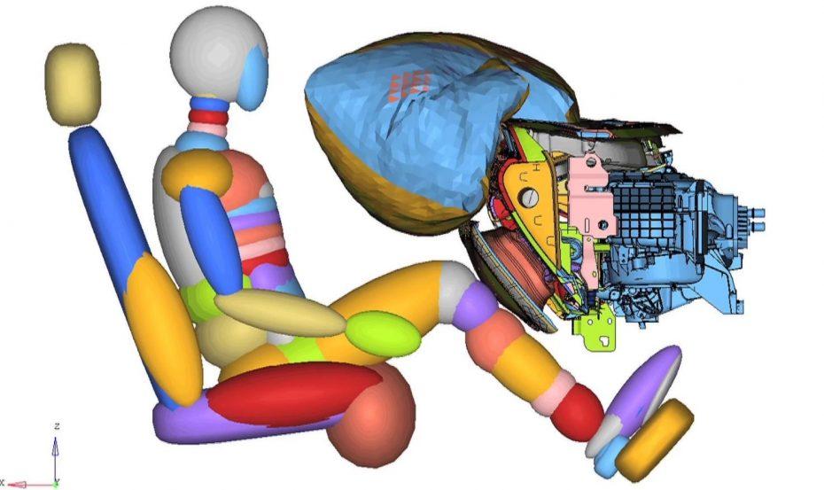 Airbag de plástico moldeado: El ahorro de espacio y peso en los sistemas de seguridad
