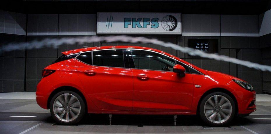 Nuevo Opel Astra: Mejor coeficiente aerodinámico que el de un Porsche 911