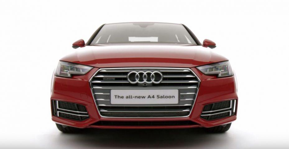 Así es como le queda la S line al nuevo Audi A4: Un toque sutil de deportividad