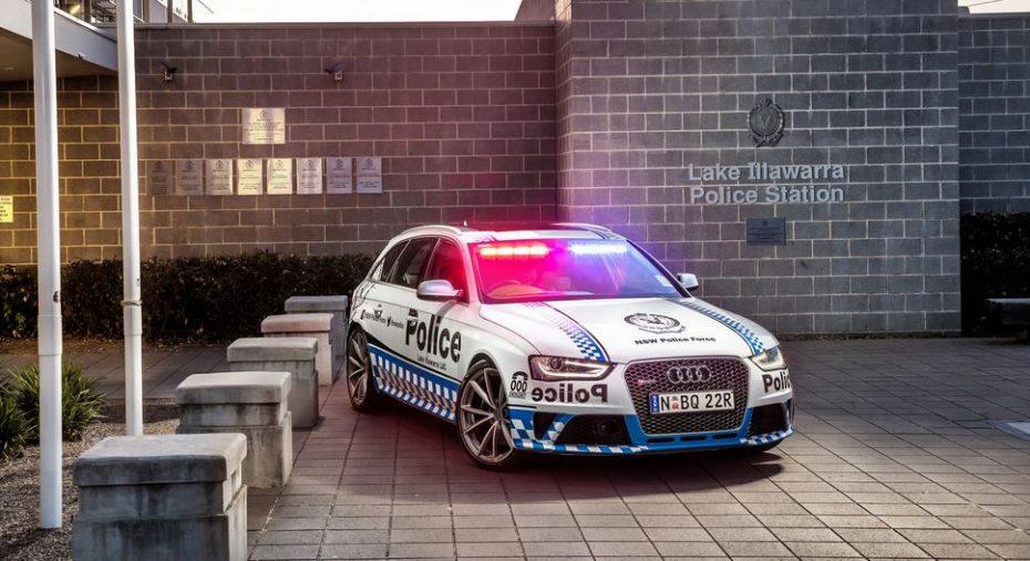 Ojo al nuevo juguete de la policía australiana: Motor V8 4.2 FSI, 450 CV, 430 Nm de par…