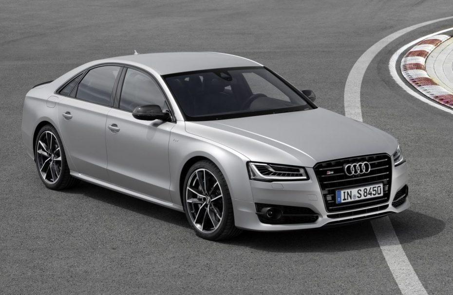 Audi S8 plus: Un 4.0 TFSI que ahora ofrece 605 CV, hasta 750 Nm de par y 305 km/h de punta