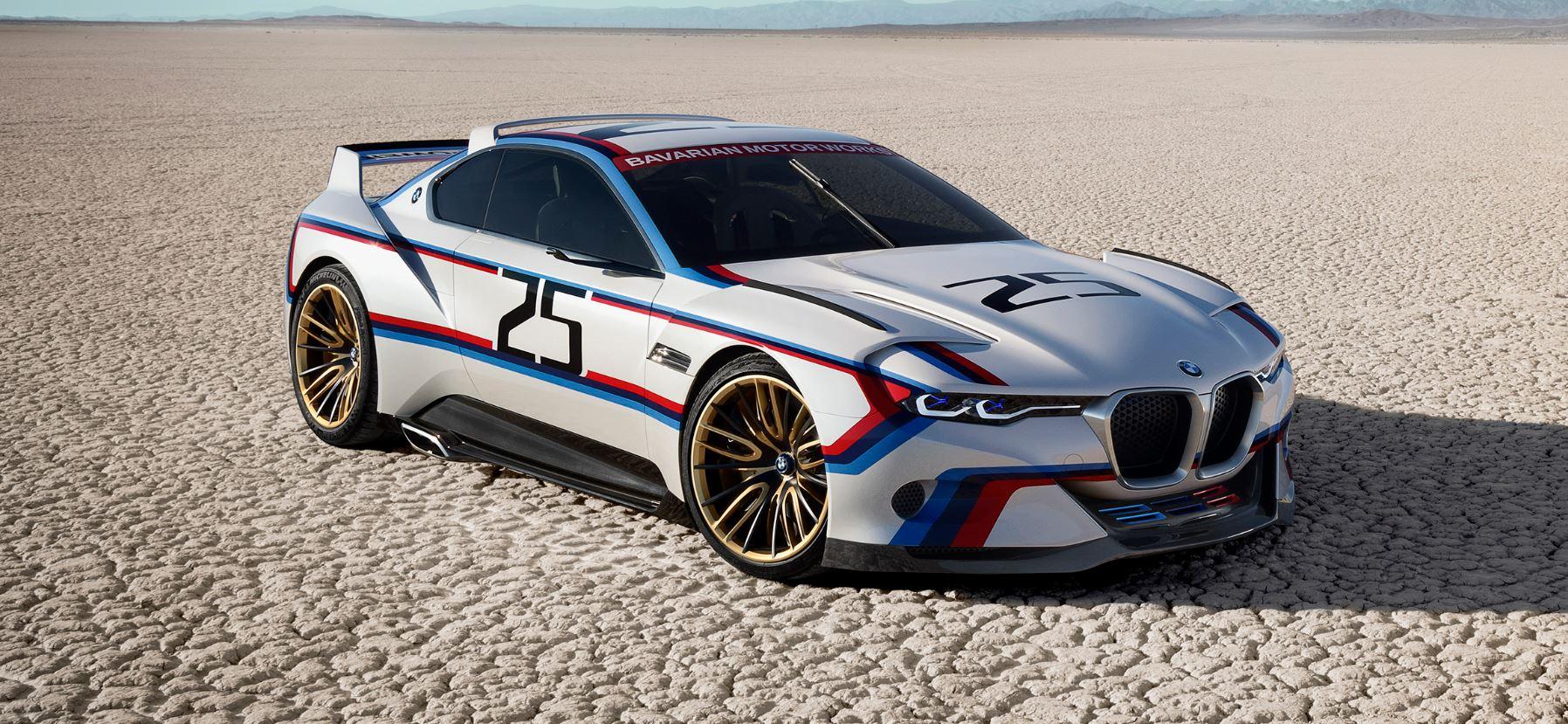 BMW 3.0 CSL Hommage R: Un 40 aniversario por todo lo alto…