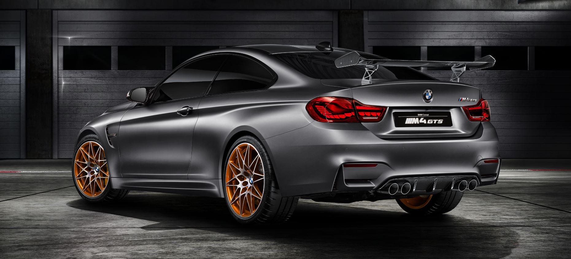 BMW Concept M4 GTS: Inyección de agua, llantas híbridas de PRFC, tecnología OLED y mucho más