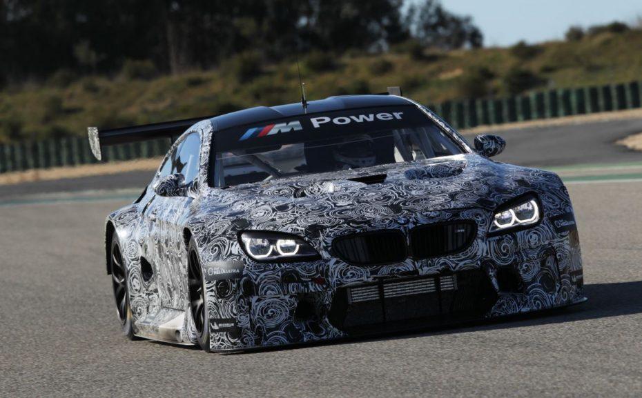 BMW M6 GT3: Un pura sangre para las carreras por 379.000 euros netos