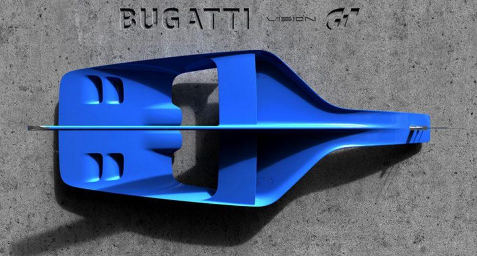 Bugatti Vision Gran Turismo: El anticipo de un regalo para los fans de la marca #imaginEBugatti
