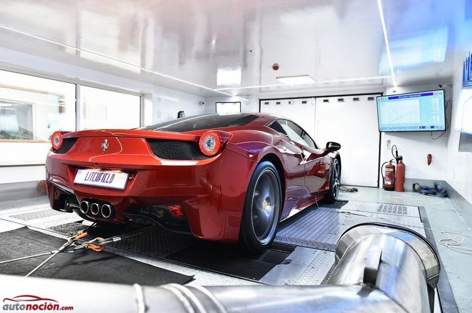 Más potencia y menos peso para el Ferrari 458 Italia de Litchfield ¡Viva el inconformismo!