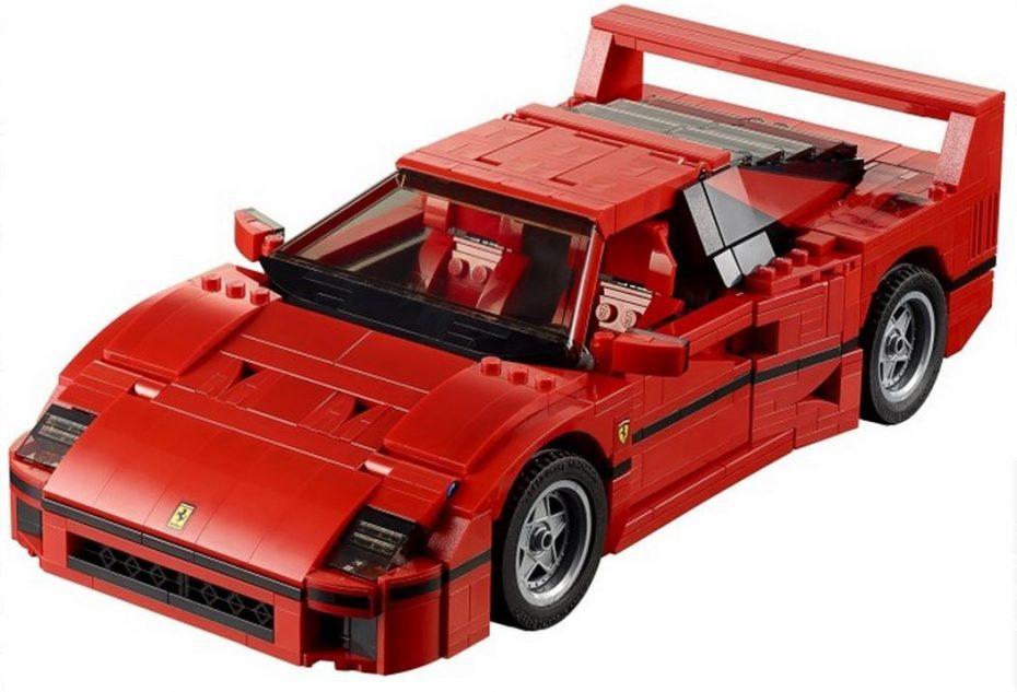 Quieres el Ferrari F40 de LEGO con sus 1158 piezas y lo sabes…