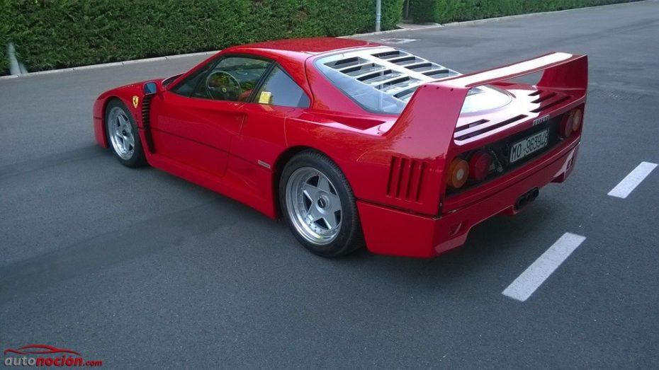El Ferrari F40 se alza como uno de los Cavallinos Rampantes más cotizados con un nuevo récord de precio en subasta