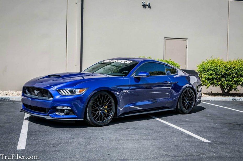 TruFiber también se atreve con el Ford Mustang y el resultado es ideal para huir de la discreción