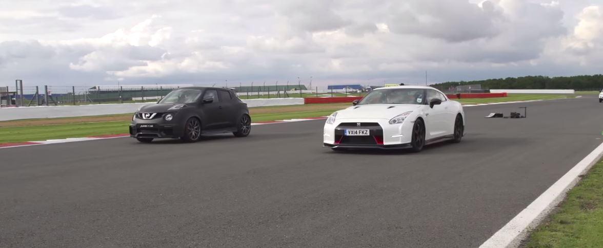 [Vídeo] Nissan GT-R Vs. Nissan Juke R: La batalla que despejará tus dudas…