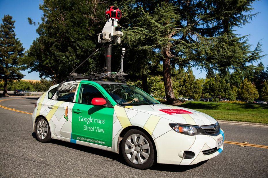 El lado más verde de Google: los coches del Street View se comprometen con la calidad del aire