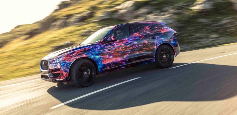 """Jaguar F-PACE: """"Todo lo aprendido con el F-TYPE, ahora con formato de crossover deportivo de altas prestaciones"""""""