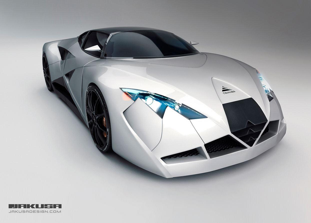 Jakusa Triango: Un prototipo de superdeportivo eléctrico Made in Hungría