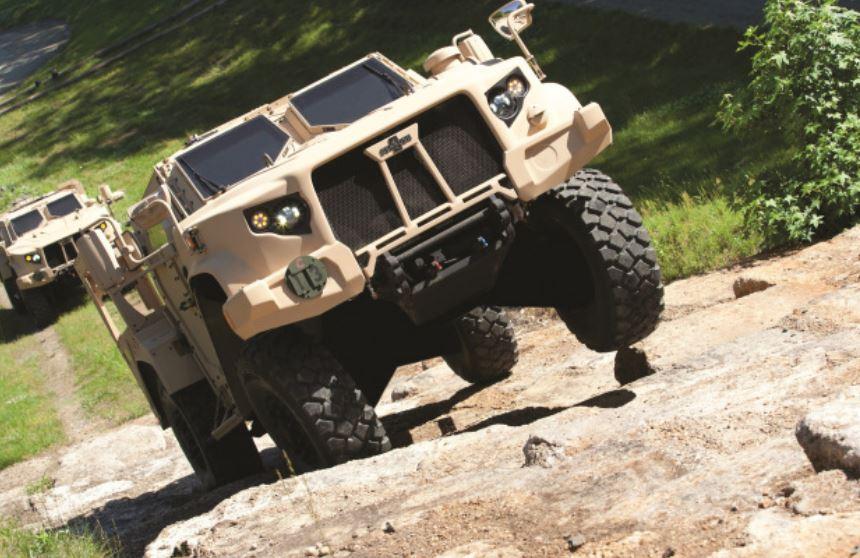 El obsoleto Humvee se despide, el reemplazo se llama L-ATV y es una salvajada