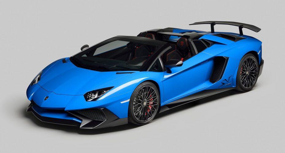 Lamborghini Aventador LP 750-4 Superveloce Roadster: 500 unidades desde 357.000 euros más impuestos