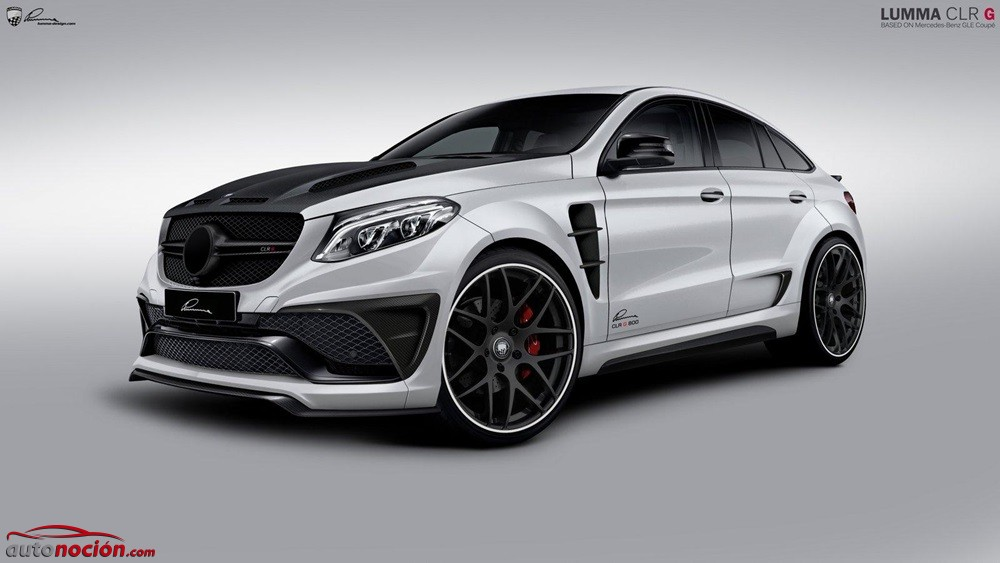 Lumma CLR G 800: los 650 CV de este Mercedes GLE63 AMG Coupe no te dejarán indiferente