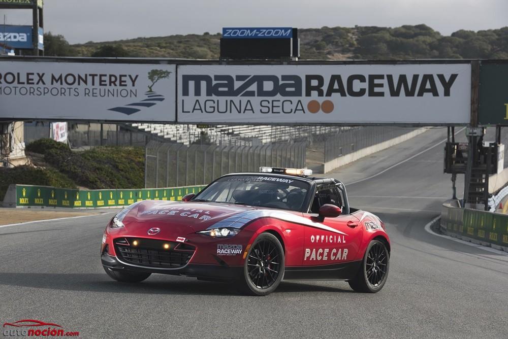 El Mazda MX-5 debutará como Pace Car en 2016 ¿Una versión picante que no veremos en la calle?
