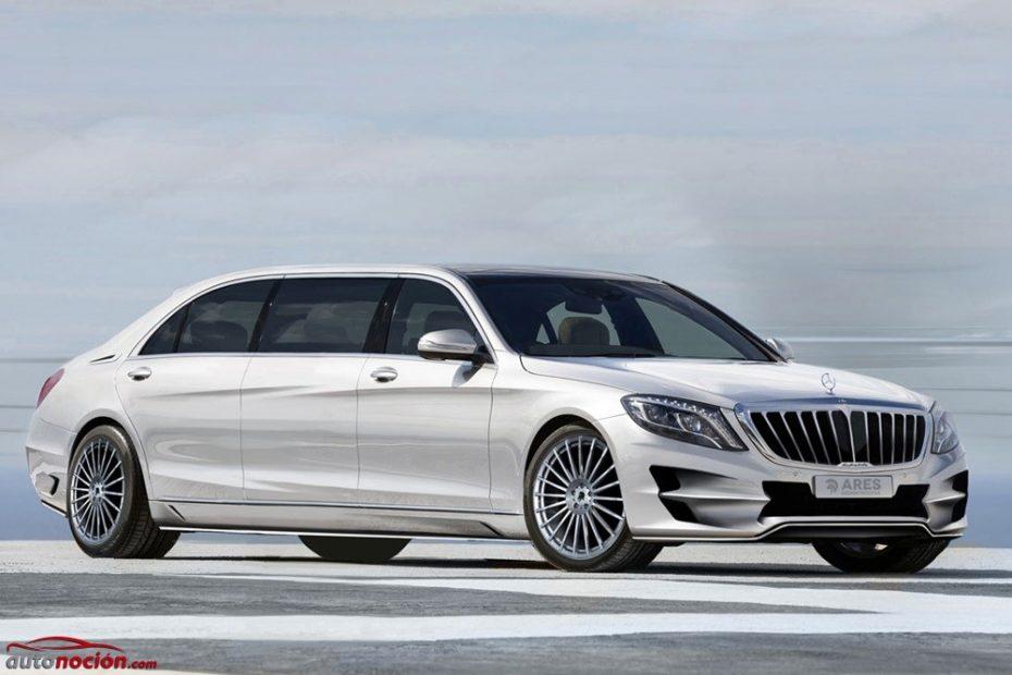 Mercedes-Benz Clase S XXL por ARES Performance: cuando lujo y ostentosidad se elevan a la enésima potencia