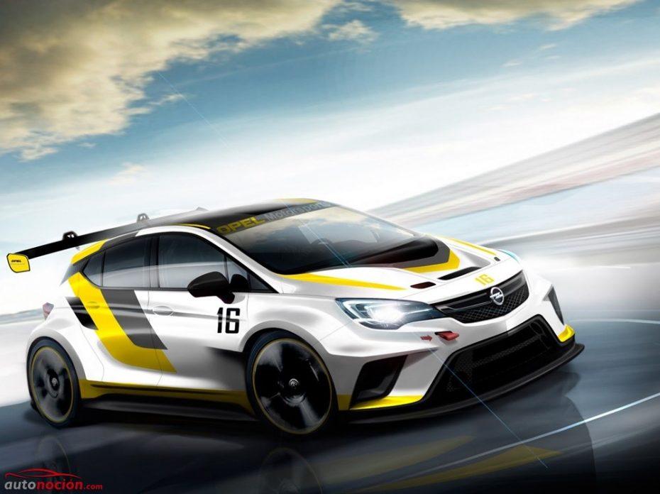Opel Astra TCR: aspecto radical y 325 CV para plantar cara al Golf en los circuitos