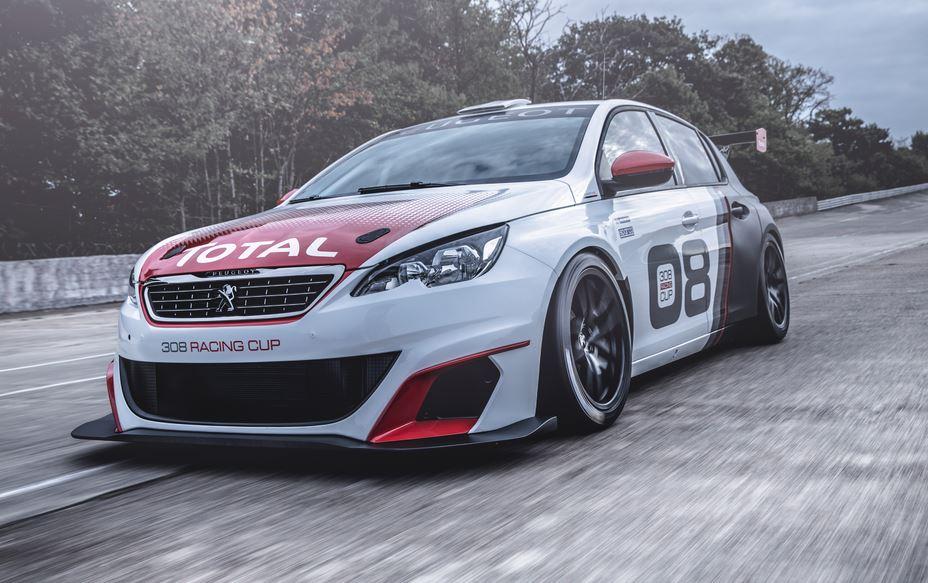 Peugeot 308 Racing Cup: Un 1.6 THP con 308 CV y menos de1.050 kg para el nuevo león de carreras