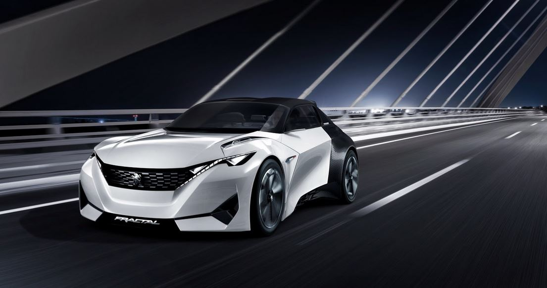 Fractal: El concept 2+2 con techo retráctil de Peugeot