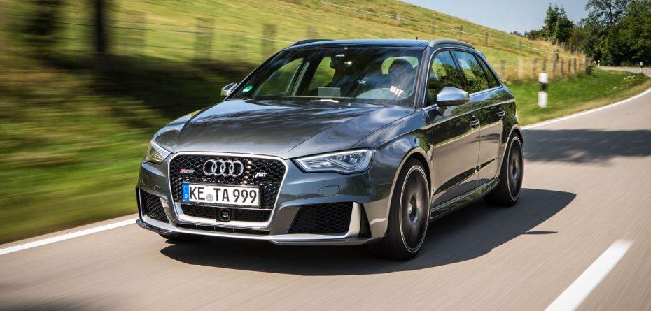 ABT le mete mano al Audi RS3: ¡El TFSI de 2.5 litros ahora cuenta con 430 CV!