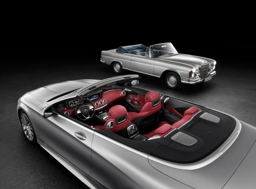 El Mercedes-Benz Clase S Cabrio vuelve a dejarse ver: 44 años de ausencia y viene retando…
